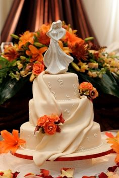 images of fall wedding parties | Fall Wedding Cake Gallery