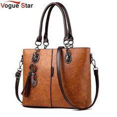 3a0e864d788a 2018 Big Ladies Hand Bag For Women Solid Shoulder Bag Leather Handbag  Luxury Handbags Women Bag. Designer Messenger BagsCrossbody ...