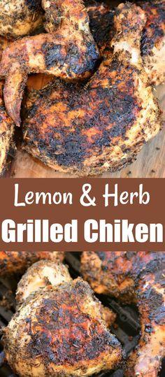 50+ Grilled Chicken Recipes ideas in 2020 | grilled chicken