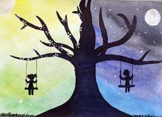Protiklady. Práce starších školáků našeho výtvarného studia. Snowman, Studios, Disney Characters, Fictional Characters, Art, Art Background, Kunst, Snowmen, Performing Arts