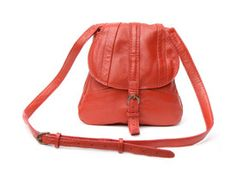 Ashley Watson Flicker Bag Red-Recycled Leather