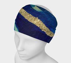Headband Wrap - Blue Marble Cove
