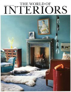 The World of Interiors Cover  For more inspirations visit: http://www.luxxu.net/press.php  #luxxu #luxury #press