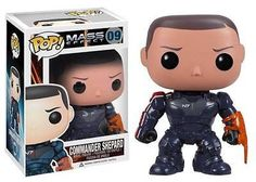 From the Mass Effect video game series from BioWare, the main character from the series has been given the Pop. Vinyl treatment with this Mass Effect Commander Shepard Pop. Vinyl Figure. Commander Shepard stands 3 3/4-Inch tall and makes a great gift for children and adult collectors alike.