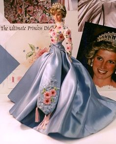 Comment by original pinner: as Princess Diana by Mattel Inc., never approved by Diana's estate thus, never produced - this is one of two prototypes.