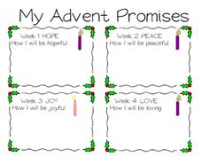 Advent Crafts For Th Grade Ccd Classes