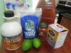 Dieta de la limonada o más bien The Master Cleanse ayuda a eliminar enfermedades como la sinusitis, ulceras y ayuda a perder peso en 10 días
