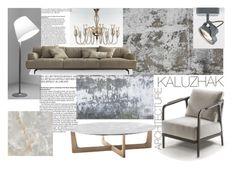 """Living sample 6"" by kalujak on Polyvore featuring interior, interiors, interior design, дом, home decor, interior decorating и Artemide"