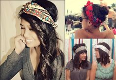 It's all about the head-scarves!