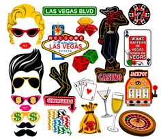 Las Vegas digital photo booth props Instant by LUCIOUSMAXIMUS