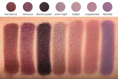 Eyeshadow Brands (swatches And Pigmentation)