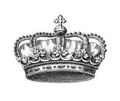Danish Royal Crown   Historic Symbols of Monarchy and Rank Royalty Free Stock Vector Art Illustration