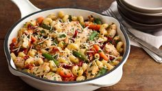 It's a 30-minute weeknight meal!  Save even more time when you serve it from the skillet.