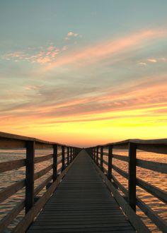 Boardwalk Sunset 2 (by capeguyphotos)