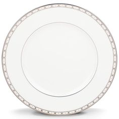 "Kate Spade Signature Spade 10.75"" Plate By Lenox"
