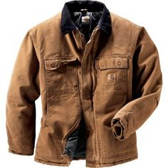 Outdoor Wear, Outdoor Outfit, Vintage Leather Motorcycle Jacket, Winter Fashion 2015, Mens Outdoor Clothing, Carhartt Jacket, Herren Outfit, Men's Coats And Jackets, Western Shirts