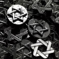 Star of David Pocket Charms - 50 pcs - Tokens & Charms - Favor Packaging - Wedding Favors & Party Supplies - Favors and Flowers
