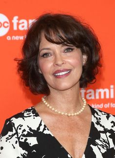 Mary Page Keller Short Curls - Mary Page Keller kept it classic and feminine with this short curly 'do at the TCA Summer Press Tour.