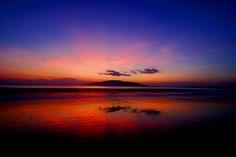 Sunrise over Nha Trang, Vietnam.
