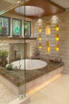Amazing luxury master bathroom Micoley's picks for #luxuriousBathrooms www.Micoley.com