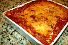 The famous #1 Lasagna Recipe!! Seriously guys this isn't just any old lasagna...it's been voted #1 by Foodies!