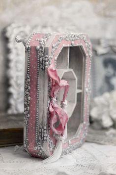 Decoupage, Retro Vintage, Shabby Chic, Anna, Boxes, Mirror, Frame, Tips, Handmade