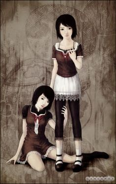 one of my favorite games- Fatal Frame II: Crimson Butterfly
