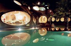 bubble palace pierre cardin residence