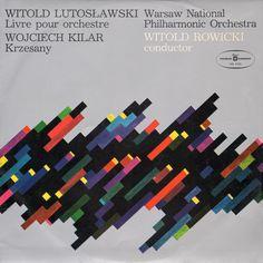 Polskie Nagrania LP Cover Design