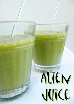 Alien Juice Smoothie