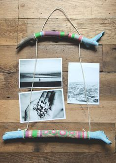 DIY Painted Sticks - might try this to make that bird mobile I've been meaning to get around to
