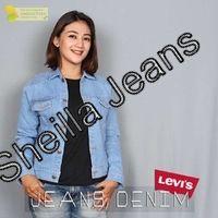 Jaket Jeans Wanita Abu-abu