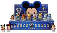 Disney Store 25th Anniversary Light Up Vinylmation