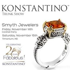 #konstantino #20yearanniversary #jewelry #greece #jewels #treasure #womensfashion #hermione #trunkshow