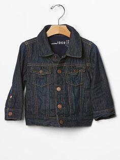 His first denim jacket