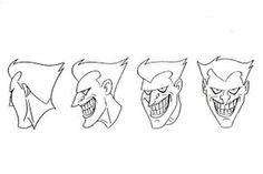 Joker Model Sheet II by Nes44Nes