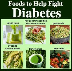 Foods to help fight diabetes