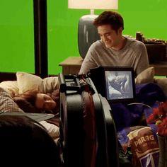 "You're hilarious, R-Patz.   Watch Kristen Stewart Make Robert Pattinson And Taylor Lautner Laugh On The ""Twilight"" Set"