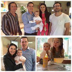 Jalen's christening #family #jalenbryan #jb #ourlilfamily #sundayservice