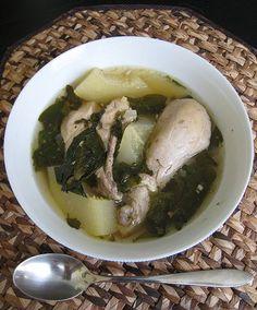 Filipino Chicken Tinola / Chicken Soup