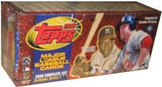 2000 Topps Baseball Cards Complete Set (478 cards) by Topps. $49.99. Each factory sealed set contains 478 cards (all the base cards from Series 1 and 2) including 78 subset cards: 7 Post Season Highlights (from Series 1), 15 Prospects, 10 Season Highlights (5 from each series), 10 Magic Moments (5 from each series), 14 20th Century`s Best (7 from each series), 7 League Leaders (from Series 2) and 15 Draft Picks.