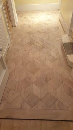 Wood Floor Pattern, Floor Patterns, Floor Design, Tile Design, Wood Floor Installation, House Extension Design, Wood Mosaic, House Doors, Living Room Flooring