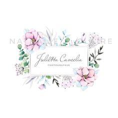 """184 Likes, 16 Comments - WATERCOLOR ILLUSTRATION (@nathalie__claire) on Instagram: """"Логотип для фотографа @juliettacamelia, очень нравятся мне такие цвета, одно из любимых сочетаний…"""""""