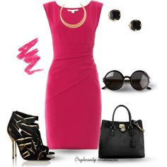 """""""Pink"""" by oribeauty-cosmeticos on Polyvore"""