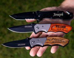 Groomsmen Gift Pocket Knife Hunting Knife Gift for Men