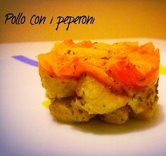 Pollo con i peperoni recipe light