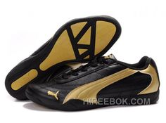 a3c1138a5e3 Mens Puma Future Cat 0118 Black Golden Cheap To Buy