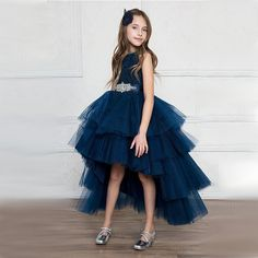 f54969329d704 Robe ceremony teen tulle dress top range for party wedding bridesmaid tulle  lace jewel girl teen 12, 14 or 16