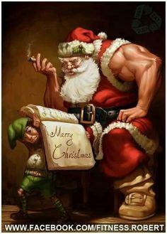 Buff Santa