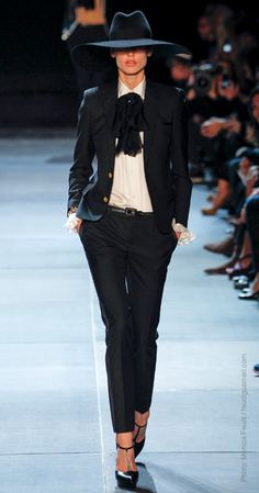 The Suit: #Bold and #fun suits are seen all over the #Spring 2013 runways, from Christian Dior, Saint Lauren, to Calvin Klien.